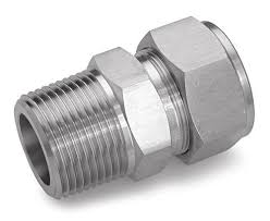 "Tube Fitting Male Connector 3/4"" Tube x 3/4"" BSPT T316"