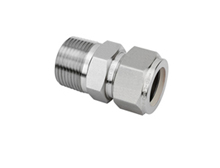"Tube Fitting Male Connector 3/8"" Tube x 3/8"" MBSPT T316"