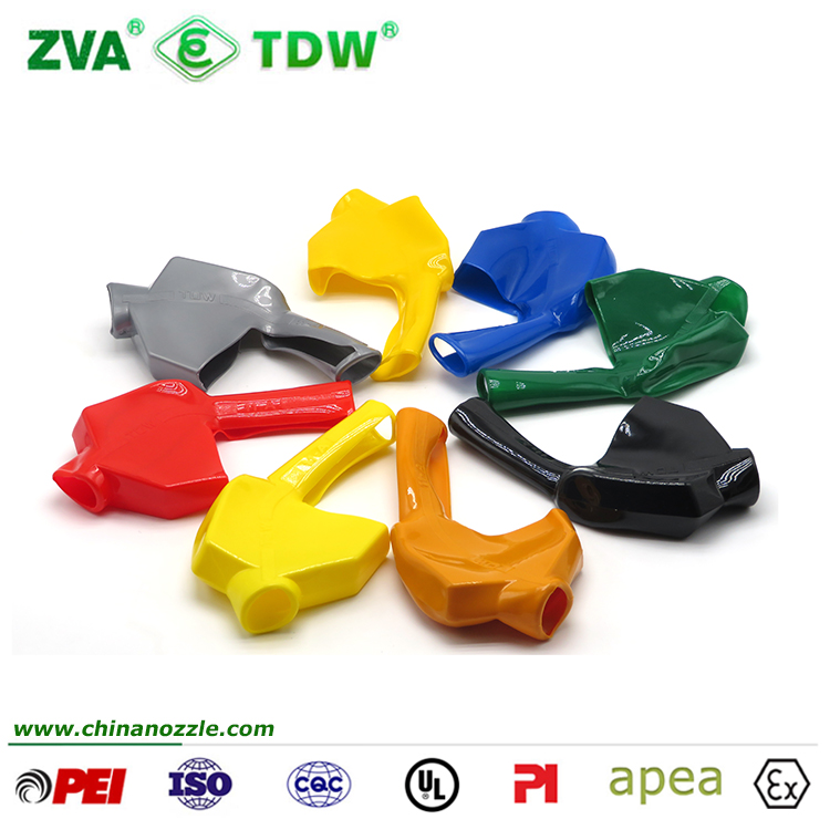TDW 7H Nozzle Cover - Green/Black/Red/Yellow